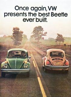 Volkswagen Beetle adv (1970s)