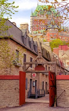 Chateau Frontenac from Royal Battery Quebec City, PQ Old Quebec, Montreal Quebec, Quebec City, Montreal Canada, Places To Travel, Places To Visit, Chateau Frontenac, Canadian Travel, Canadian Rockies