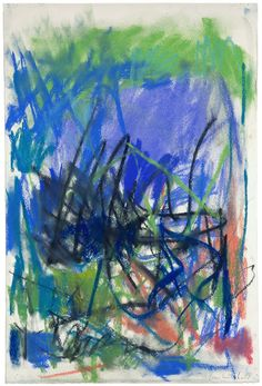 Joan Mitchell - Untitled, 1983