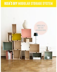 DIY Hacks for Renters - DIY Modular Storage - Easy Ways to Decorate and Fix Things on Rental Property - Decorate Walls, Cheap Ideas for Making an Apartment, Small Space or Tiny Closet Work For You - Quick Hacks and DIY Projects on A Budget - Step by Step Tutorials and Instructions for Simple Home Decor http://diyjoy.com/diy-hacks-renters