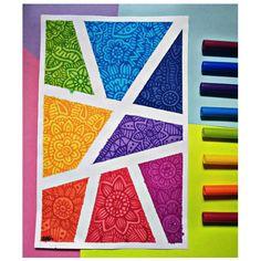 Mandala Art Lesson, Mandala Doodle, Mandala Artwork, Mandala Canvas, Mandala Drawing, Doodle Art, Dibujos Zentangle Art, Zentangle Drawings, Art Drawings