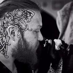 15 Tatuagens Com o Estilo Viking De Sean Parry