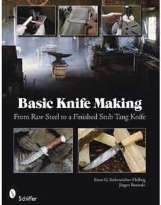 Ernst G Siebeneicher-Hellwig Basic Knife Making: From Raw Steel to a Finished Stub Tang Knife Aesthetic Objects, Knife Making Tools, Electric Knife, Metal Welding, Best Pocket Knife, Knife Sharpening, Kitchen Knives, Making Ideas, Blade