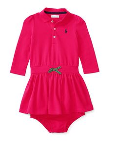 Mesh Polo Dress & Bloomer