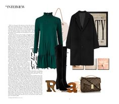 """""""Senza titolo #4521"""" by ladyhysteria ❤ liked on Polyvore featuring Traffic People, Aquazzura and Hatcher & Ethan"""
