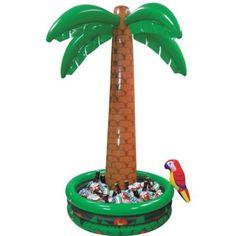 "LUAU PARTY BEACH POOL FREE SHIPPING INFLATABLE PALM TREE 66/"" 5.5 FEET"