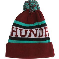 The Hundreds Division Beanie (maroon) T12W106073MRN - $29.99