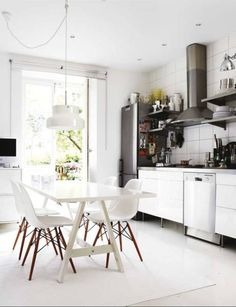 white kitchen | a room to cook in