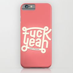 Fuck Yeah (mon frère) iPhone & iPod Case by Wharton | Society6