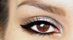 Sparkly Silver: http://www.beautylab.nl/sparkly-silver-dark-brown-eyelook/