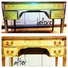 ghosts of furniture past writing desk with annie sloan chalk paint, chalk paint, painted furniture