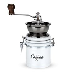 Country Cottage Ceramic Coffee Grinder by Twine >>> To view further for this item, visit the image link.