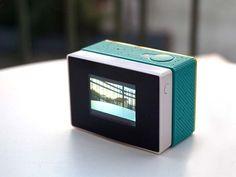 Sport Camera Accessory 3In1 Detachable LCD screen 2400mah External Backup battery Waterproof Case Set for xiaomi yi Action Cam
