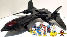 LEGO X-Men X-Jet Blackbird MOC - Saber-Scorpion's Lair - Personal Website of Justin R. Stebbins
