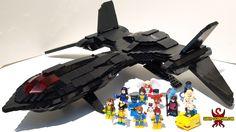 LEGO X-Men X-Jet Blackbird MOC - Saber-Scorpion's Lair - Personal Website of Justin R. Stebbins