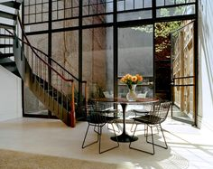 East side townhouse, New York. BWArchitects (formerly Basil Walter Architects).
