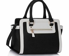 TrendStar Womens Black Leather Handbag New Ladies Shoulder Bags Tote Designer Style Celebrity Faux Leather Beautiful Faux Leather Tote Bags Go Gracefully From Work To Dinner. The Bags Have A Stunning Metal Work And Graceful Look With A Beautiful Cross-Body Strap. (Barcode EAN = 5055929310759). http://www.comparestoreprices.co.uk/celebrity-fashion/trendstar-womens-black-leather-handbag-new-ladies-shoulder-bags-tote-designer-style-celebrity-faux-leather.asp
