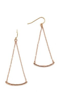 Gorjana Taner Bar Mini Swing Earrings