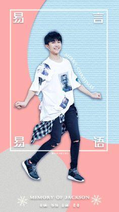Yiyangqianxi #Jackson #JacksonYi #易烊千玺 #อี้หยางเชียนซี #เชียนซี #TFboys #lockscreen