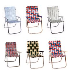 "These are not vintage. They are spiffier versions of the original. Made in the USA by Lawn Chair LLC. Brought to you by ""A Continuous Lean."""