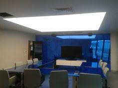 Stretch Ceiling Lighting Systems Producer Streç Tavan Aydınlatma Sistemleri Üreticisi KuveytTürk Bankacılık ve Yaşam Üssü Toplantı odaları