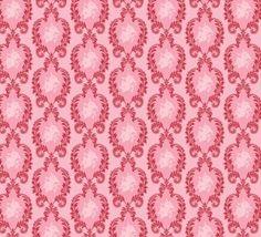 Tilda stof Vintage Ornament Pink