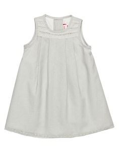 Sleeveless Long Dress by Neck