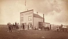 Regina Leader Post: Only newspaper and media centre with links to the east during 1885 North West Resistance. Photo: O.B. Buell