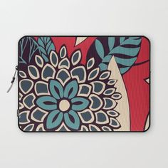 Bloom Laptop sleeve by Tracie Andrews, $36. https://society6.com/product/bloom-b18_laptop-sleeve?curator=bestreeartdesigns