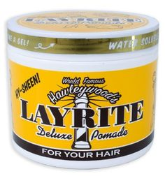 Layrite Deluxe Pomade (4 oz.) by Hawleywoods / Layrite