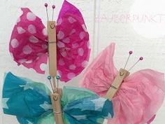 Schmetterlinge DIY … Craft Projects For Kids, Diy For Kids, Diy And Crafts, Paper Crafts, Butterfly Party, Spring Activities, Summer Kids, Things To Come, Invitations