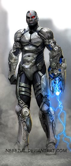 Cyborg of Teen Titans by *nebezial on deviantART