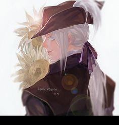 DeviantArt: More Like Lady Maria - BLoodborne the old hunters by Hollow-Moon-Art Bloodborne Maria, Bloodborne Characters, Creature Picture, Soul Game, Character Art, Character Design, Fandom Games, Old Blood, Moon Art