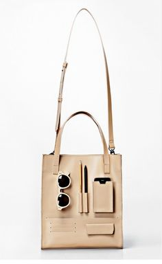 701e2674c0 leather nude bag. compartments Inside Bag