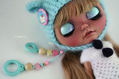 Fay custom Blythe art ooak doll by Jodiedolls por Jodiedolls
