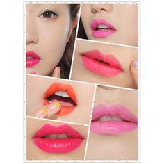 3CE Makeup Rotary Lip Gloss Pen Long Lasting liquid Lipstick