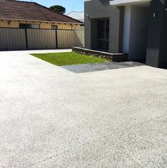 Used in landscaping design and property renovations, Exposed Aggregate Decorative Concrete is a popular choice with our Perth clients. Exposed Aggregate Concrete, Concrete Driveways, Driveway Landscaping, Landscaping Software, Courtyard Pool, Modern Landscape Design, City Limits, Front Entrances, Outdoor Entertaining