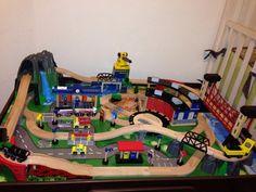 imaginarium train table track layout - Google Search