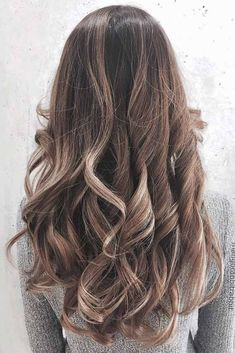 Hair Color 2017/ 2018      Ash brown hair colors, with their smoky and cool green, blue, and grey undertones, let you upgrade your brown locks in a subtle, stylish way. Let's see our ideas! #haircolor #ashbrown  Discovred by : Love Hairstyles | Explore Latest Ideas and Trends of Haircuts & ... #Color