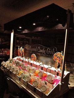 The Old Fashioned Table Top Candy Cart!