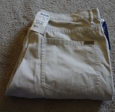 Pendleton Men's 100% Cotton Beige Casual Pants 38-30 Jeans NWT Made In China #Pendleton #CasualPants