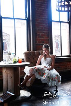 Photos of Duck Dynasty star Willie Robertson's daughter Sadie Robertson modeling her line of prom dresses fom designer Sherri Hill called Live Original Sherri Hill Prom Dresses, Homecoming Dresses, Wedding Dresses, Homecoming 2014, Dress Prom, Lace Wedding, Party Dress, Formal Dresses, Flower Dresses