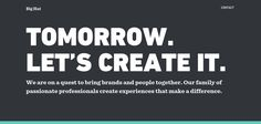 Best Type-based websites   Web Design Inspirations   Page 2 of 20