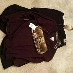 Clutch Metallic sheen faux snake skin with convertible wrist strap, zipper pocket inside, snap closure Bags Clutches & Wristlets