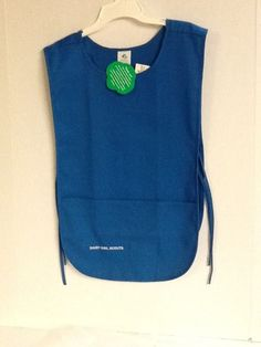 Daisy Girl Scouts Uniform Smock Tunic Size 8/10 Blue Ready for Patches New