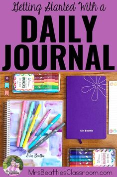 Keeping a daily journal is an excellent way to focus on gratitude, get organized, and set goals. Take a look at this post for great product choices, inspiring journaling ideas, and grab a FREE printable month-long journaling challenge! Teaching Strategies, Teaching Math, Teaching Ideas, Teacher Organization, Teacher Hacks, Differentiation In The Classroom, Classroom Resources, Teacher Inspiration, Journal Inspiration
