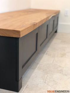 Kitchen Mudroom Bench w/ Drawers Bench With Drawers, Bench With Shoe Storage, Entry Way Storage Bench, Bedroom Bench With Storage, Outside Storage Bench, Diy Storage Bench Plans, Indoor Storage Bench, Storage Benches, Mudroom Bench Plans