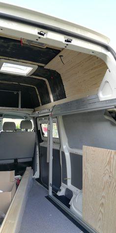 Vw Camper, Motor Homes, Camper Interior, Ford Transit, Campervan, Van Life, Diy, Outdoor Activities, Interior Trim
