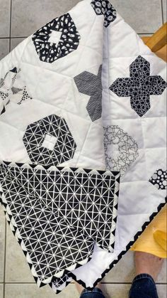 Hugs and Kisses Baby Quilt for Sale-Modern Xs and Os Baby Blanket for Sale-Black and White Handmade Baby Quilt Baby Quilt Size, Jellyroll Quilts, Children's Quilts, Traditional Quilt Patterns, Baby Hug, Black And White Quilts, Baby Sheets, Flannel Quilts, Handmade Baby Quilts