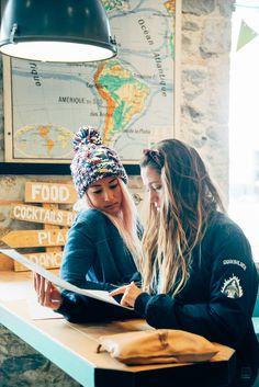 mmmmm, what to order? #ROXYpro